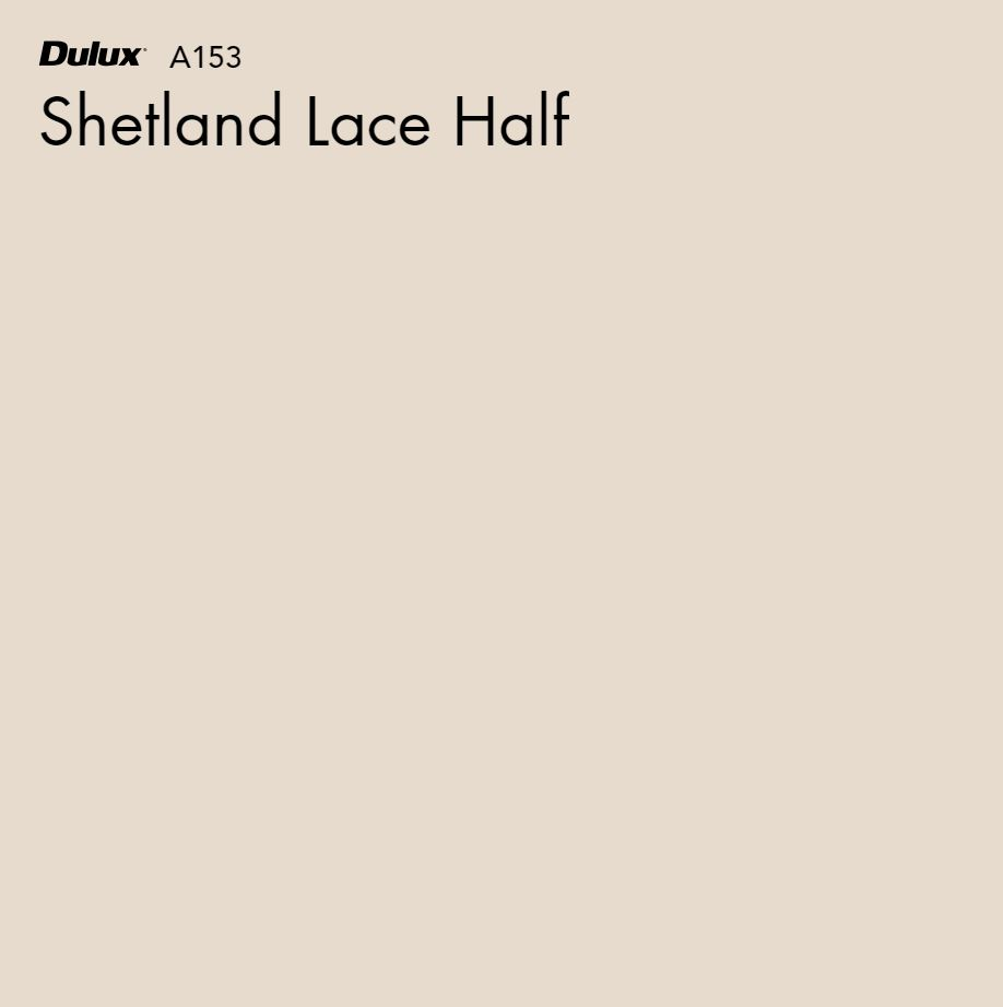 Shetland Lace Half by Dulux, a Whites and Neutrals for sale on Style Sourcebook