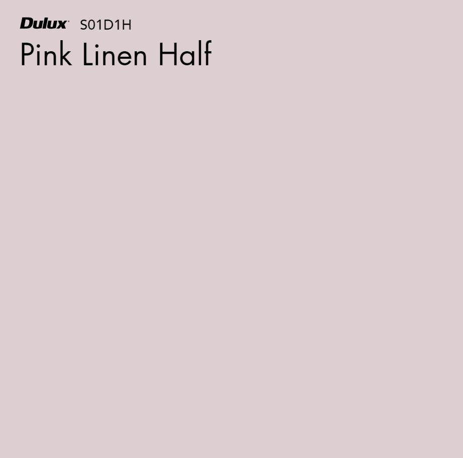 Pink Linen Half by Dulux, a Purples and Pinks for sale on Style Sourcebook