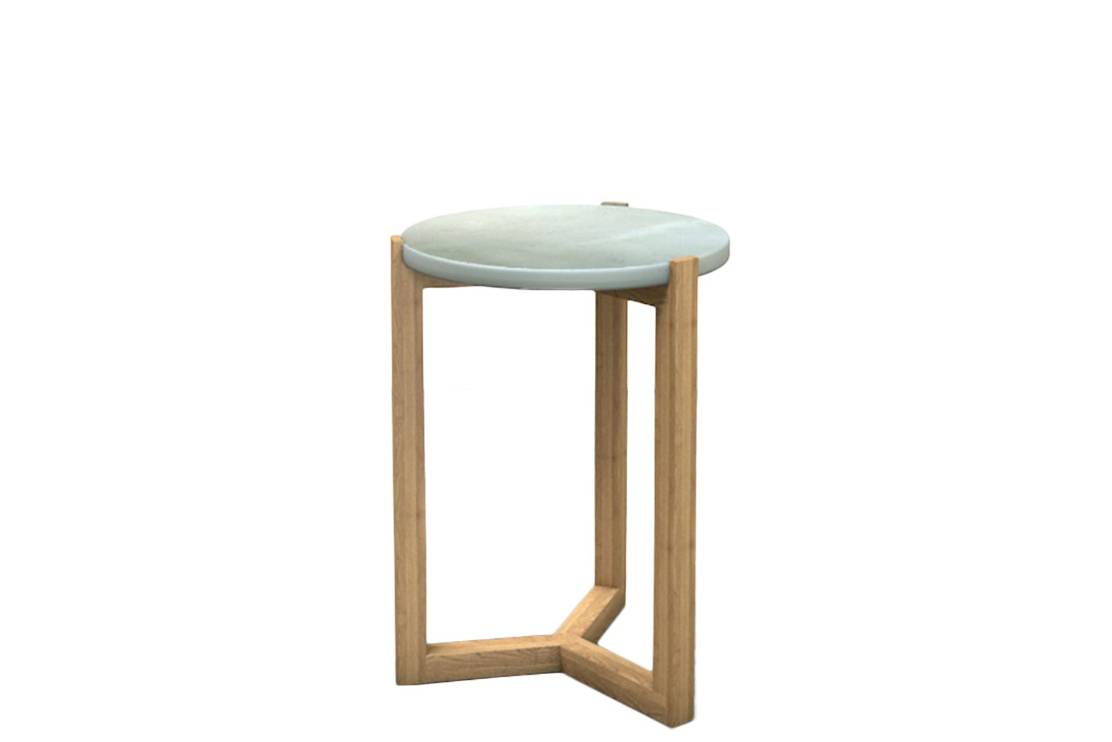 Mae Concrete Side Table by Slabs by Design, a Side Table for sale on Style Sourcebook