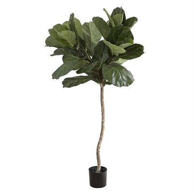 Artificial Fiddle-Leaf Tree, 1 Trunk Polyester Green Florabelle by Florabelle, a Plants for sale on Style Sourcebook