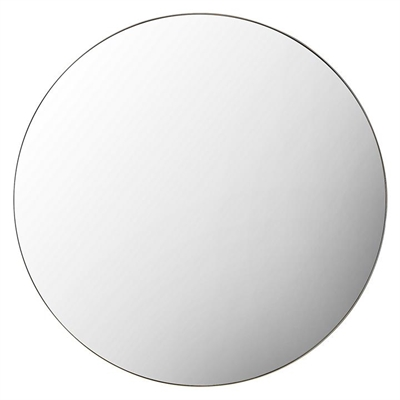 Coralie Round Wall Mirror, Champagne by Castle Road Interiors, a Mirrors for sale on Style Sourcebook
