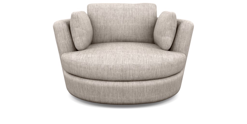 Snuggle Swivel Chair by Plush Think Sofas, a Chairs for sale on Style Sourcebook