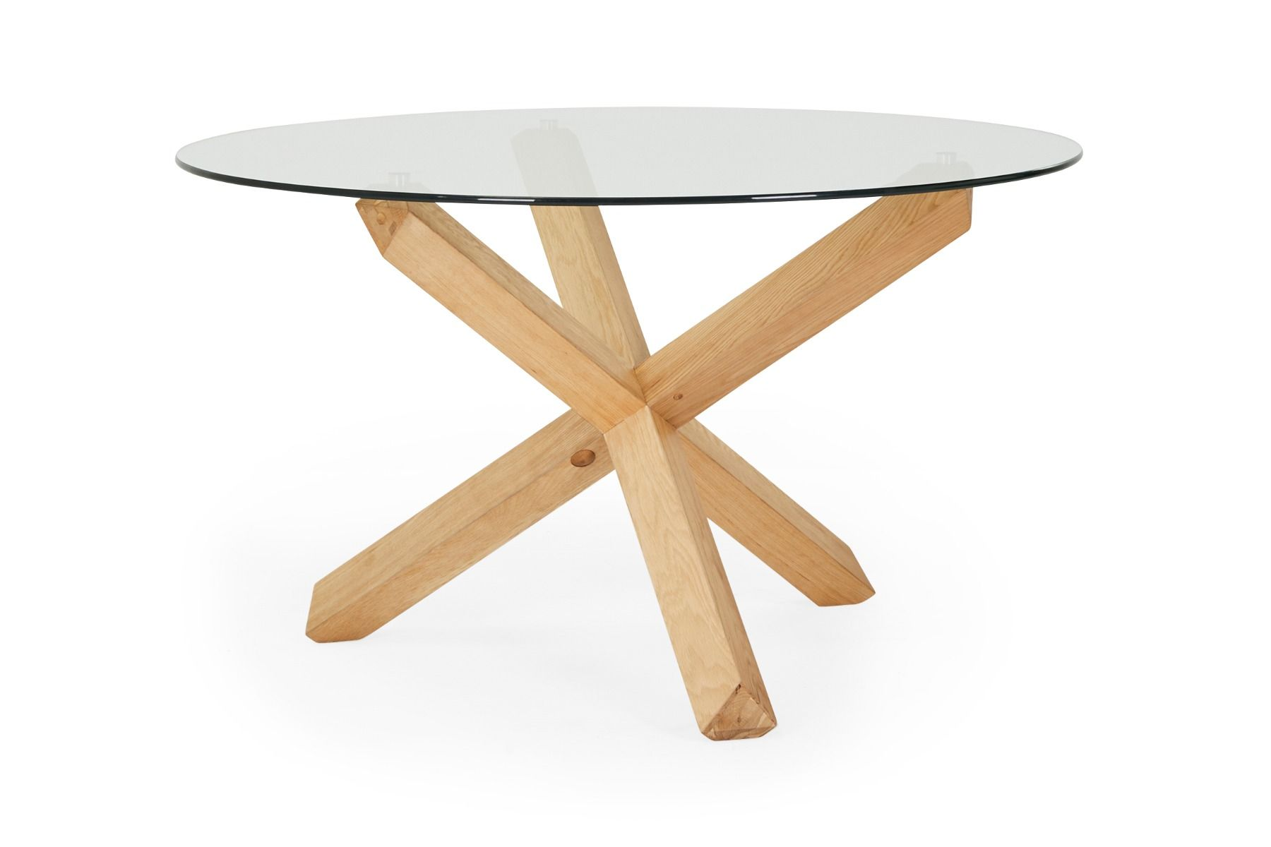 Silas Round Glass by Lounge Lovers, a Dining Tables for sale on Style Sourcebook