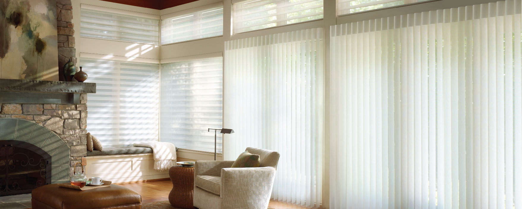 Luxaflex LuminettePrivacy Sheers by Luxaflex Window Fashions Gallery, a Blinds for sale on Style Sourcebook