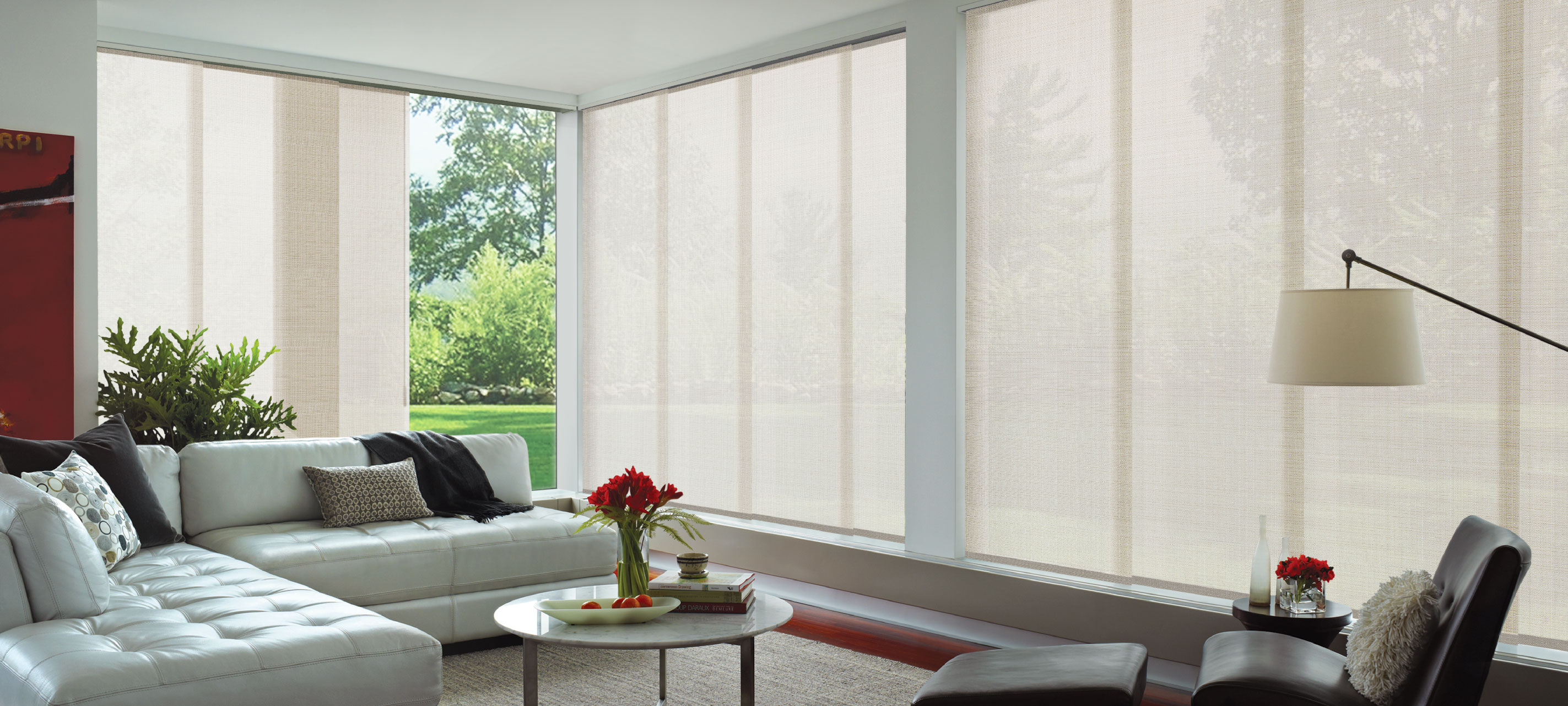 LuxaflexPanel Glide by Luxaflex Window Fashions Gallery, a Blinds for sale on Style Sourcebook