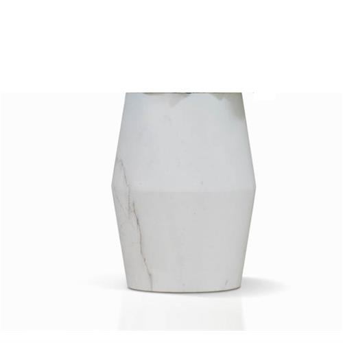 White Marble Vase by James Lane, a Vases & Jars for sale on Style Sourcebook