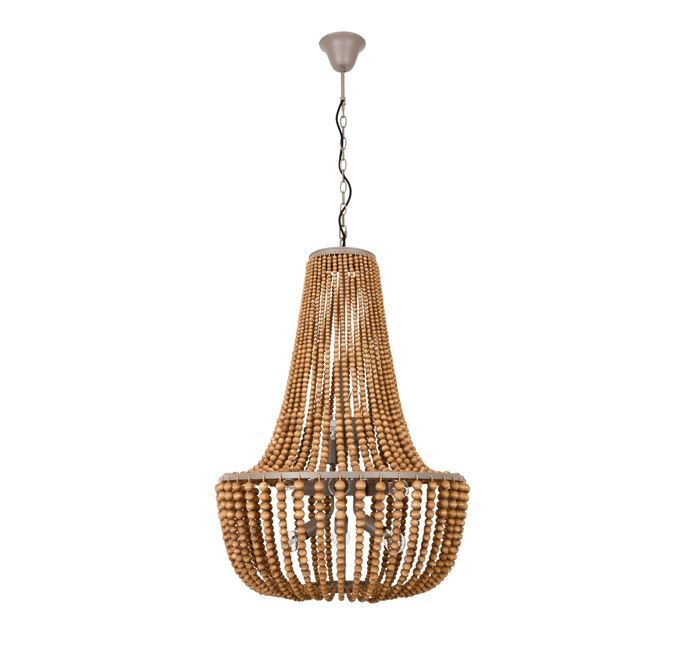 Koralky 8 Light Pendant in Natural by Beacon Lighting, a Pendant Lighting for sale on Style Sourcebook