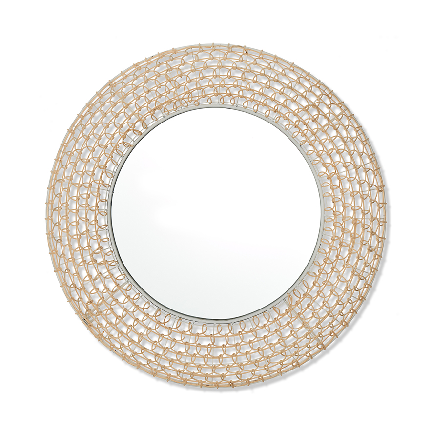 Woven Rattan Mirror by Adairs, a Wall Hangings & Decor for sale on Style Sourcebook