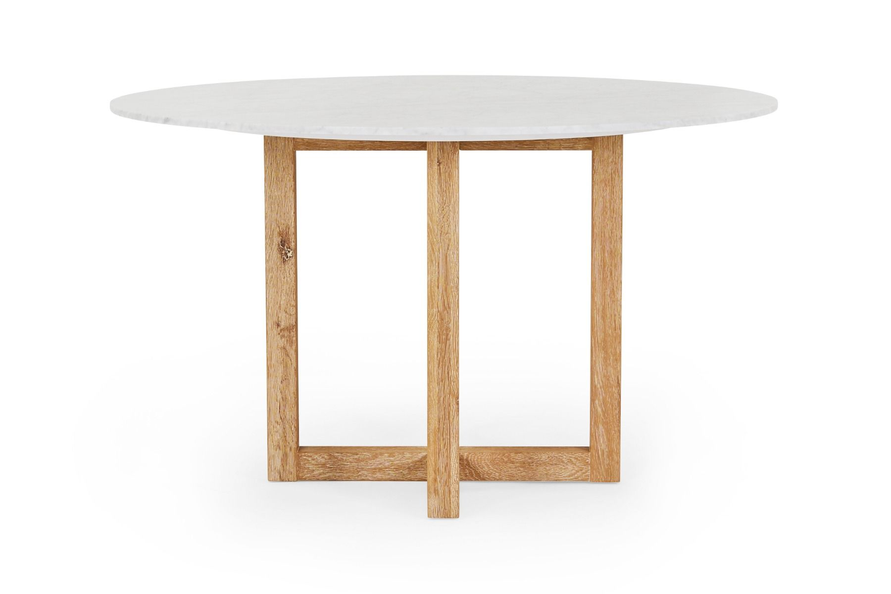Bronte Round Marble Dining Table by Lounge Lovers, a Dining Chairs for sale on Style Sourcebook