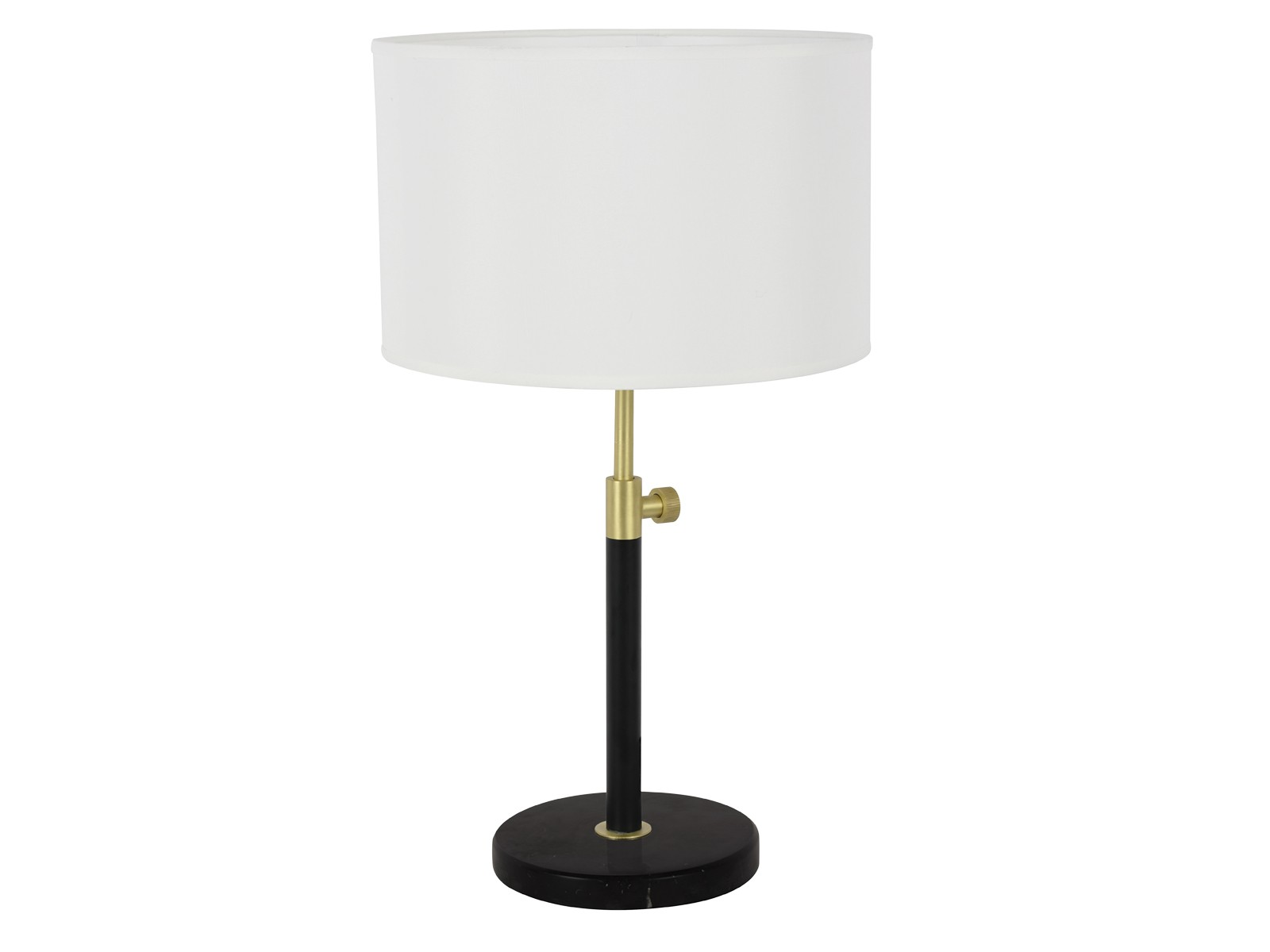 Albus 1 Light Table Lamp in Brass/Matte Black by Beacon Lighting, a Table & Bedside Lamps for sale on Style Sourcebook