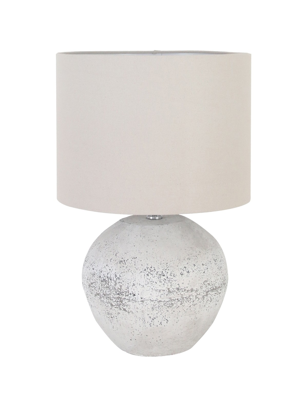 Mavis 1 Light Small Table Lamp in Antique Grey by Beacon Lighting, a Table & Bedside Lamps for sale on Style Sourcebook