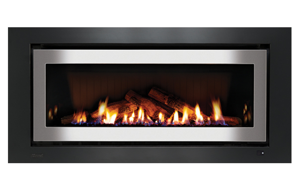 1250 Gas Log fire by Weber, a Fireplaces for sale on Style Sourcebook