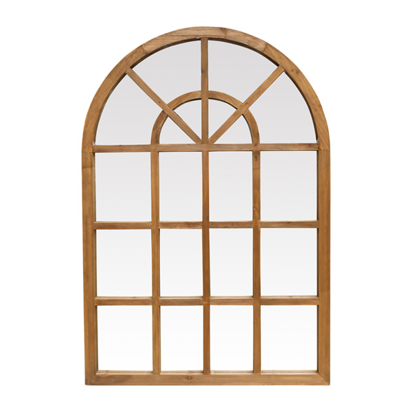 Arched Natural Timber Mirror by OneWorld Collection, a Mirrors for sale on Style Sourcebook