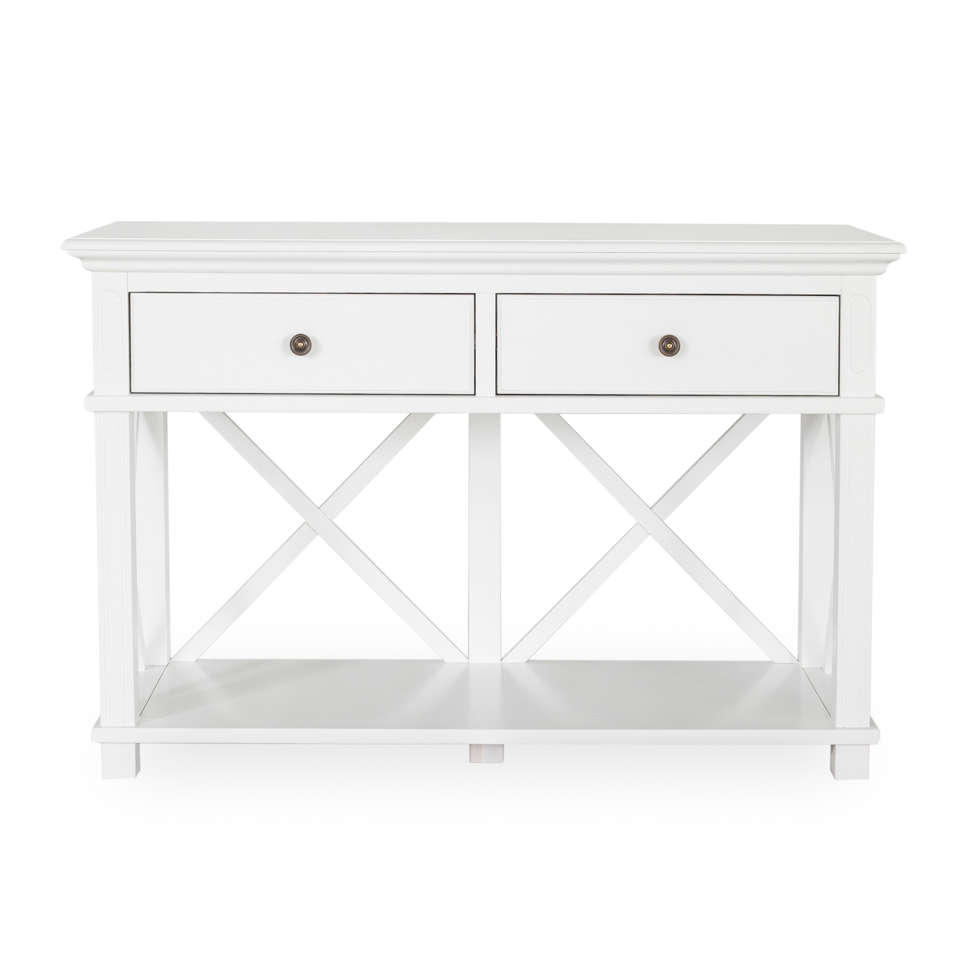 Sorrento White Console by OneWorld Collection, a Console Table for sale on Style Sourcebook