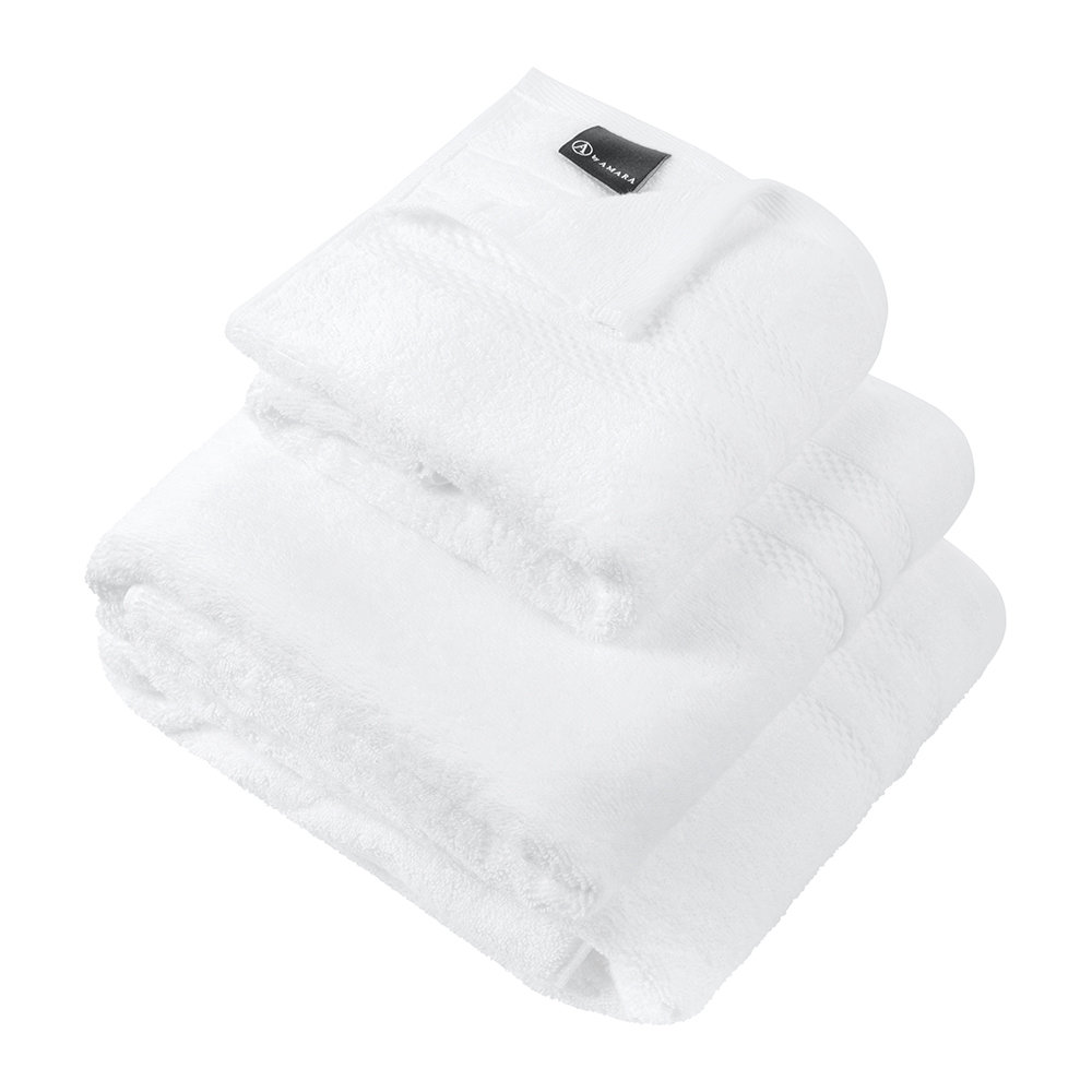 A by AMARA - Egyptian Cotton Towel - White - Bath Towel by A by Amara, a Towels & Washcloths for sale on Style Sourcebook