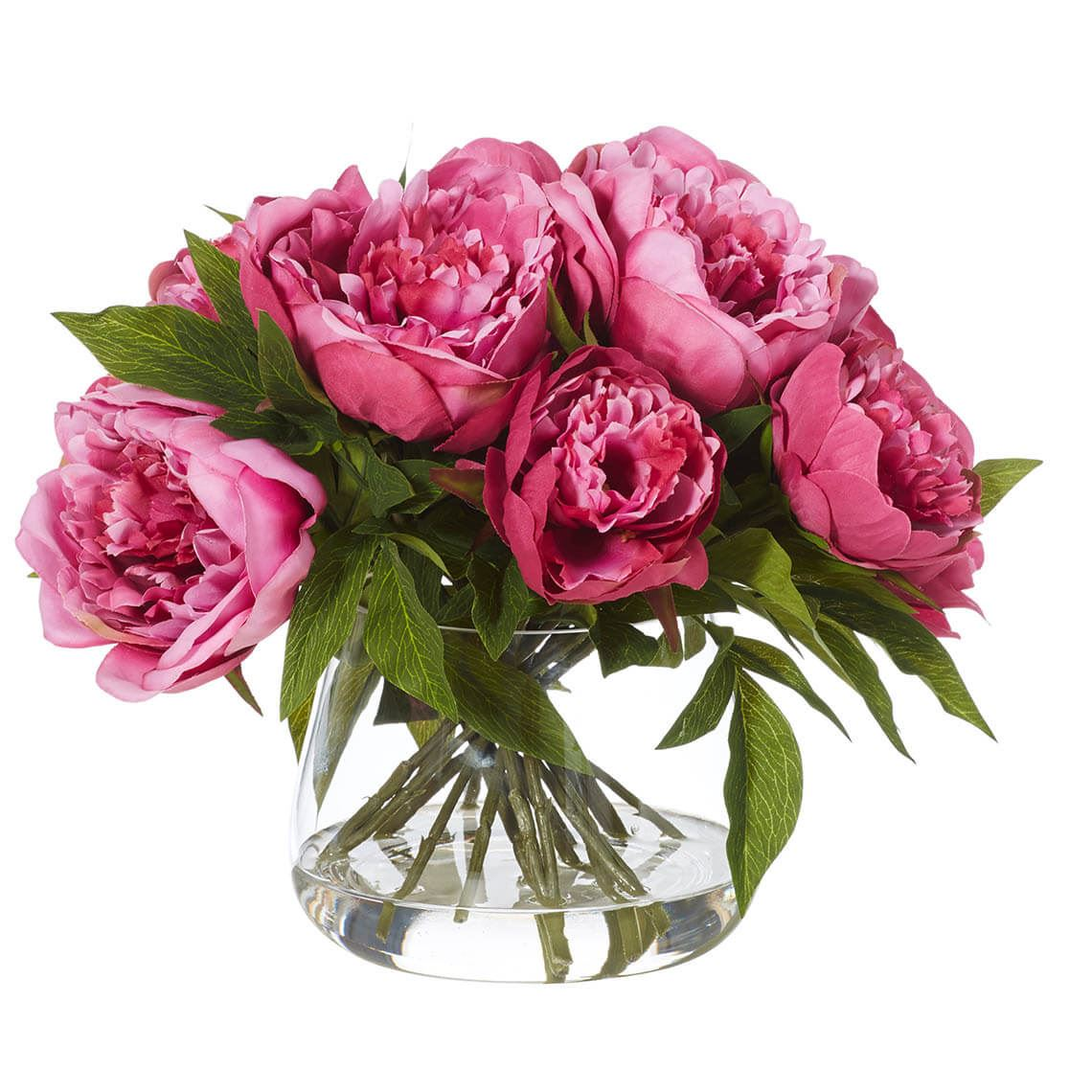 Peony Artificial Flower Size W 36cm x D 36cm x H 28cm Freedom by Freedom, a Plants for sale on Style Sourcebook