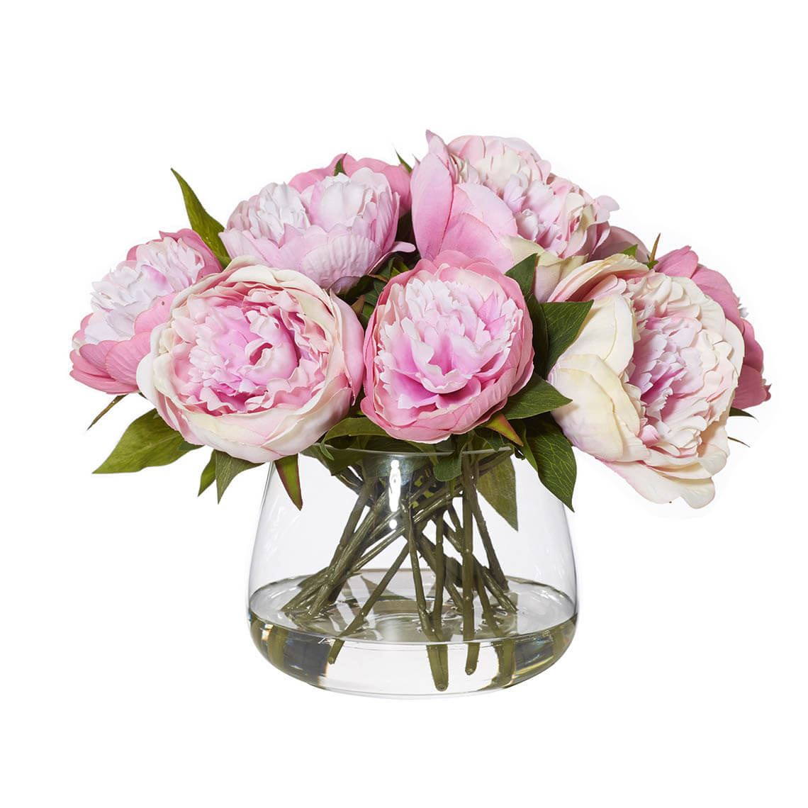 Peony Artificial Flower Size W 36cm x D 36cm x H 28cm in Purple Freedom by Freedom, a Plants for sale on Style Sourcebook