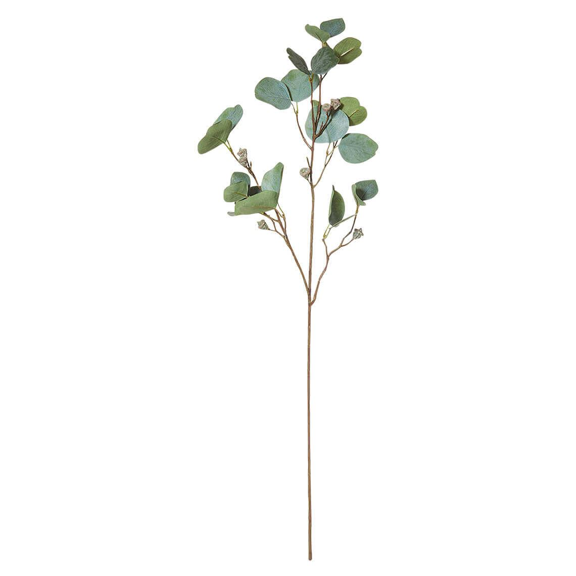 Eucalyptus Pod Artificial Foliage Stem Size W 20cm x D 10cm x H 85cm in Green Freedom by Freedom, a Plants for sale on Style Sourcebook
