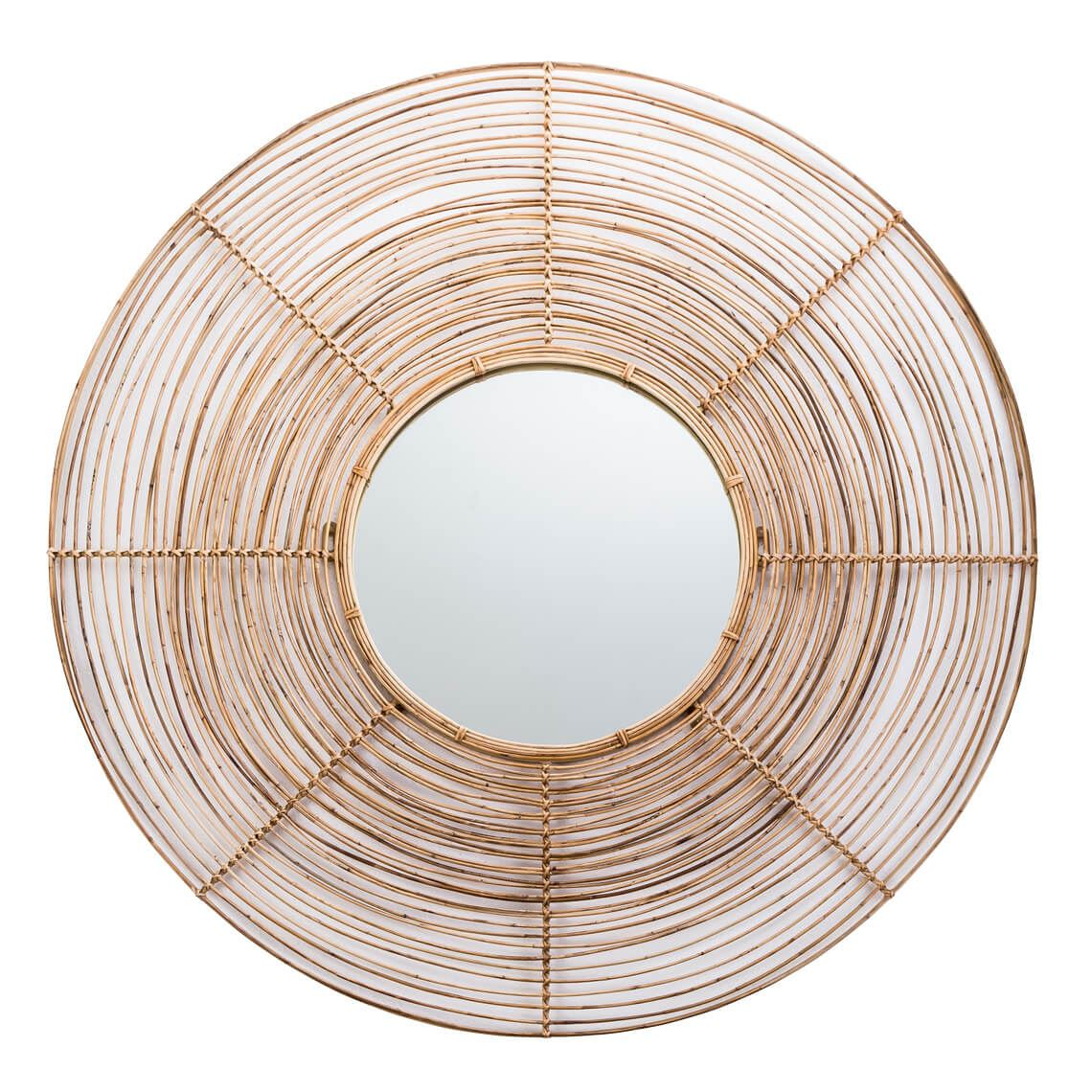 Bombo Mirror Size W 100cm x D 2cm x H 100cm in Natural Mirror/Arorog/Iron Freedom by Freedom, a Mirrors for sale on Style Sourcebook