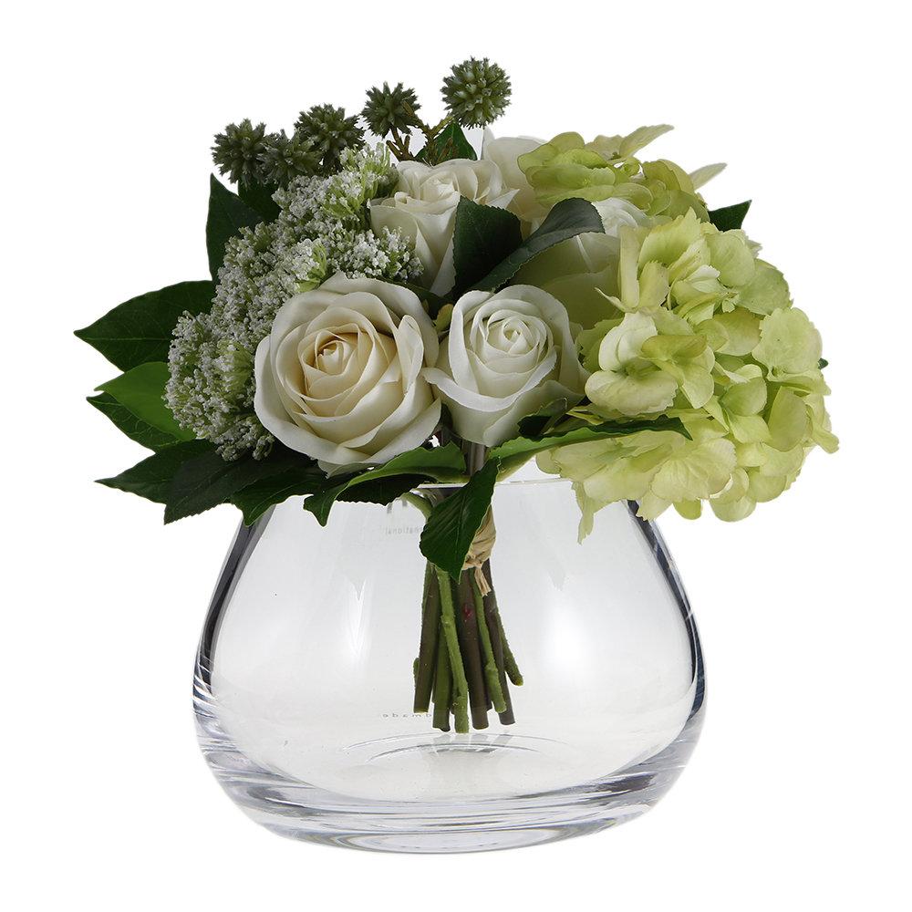 LSA International - Flower Clear Table Arrangement Vase - 11.5cm by LSA International, a Vases & Jars for sale on Style Sourcebook
