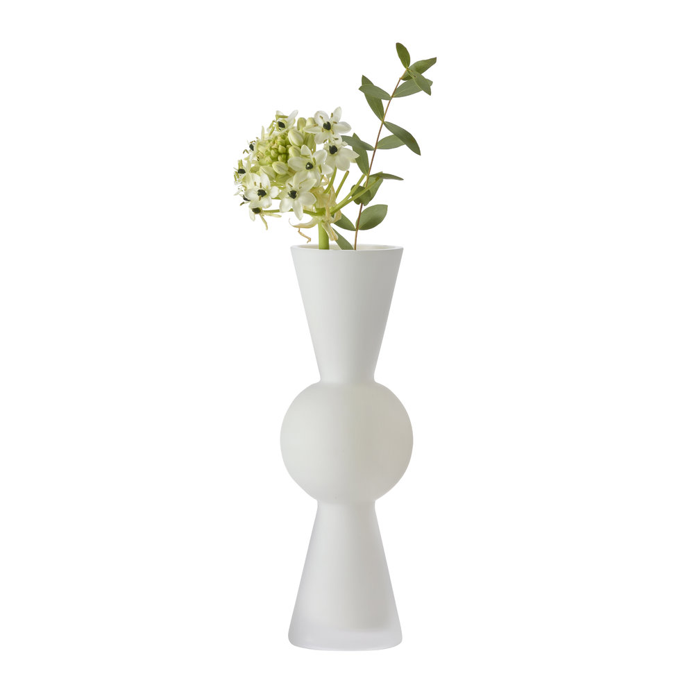 Design House Stockholm - Bon Bon Vase - White by Design House Stockholm, a Vases & Jars for sale on Style Sourcebook