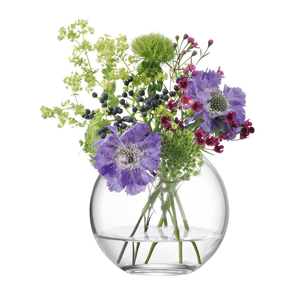LSA International - Globe Vase - Clear - 11cm by LSA International, a Vases & Jars for sale on Style Sourcebook