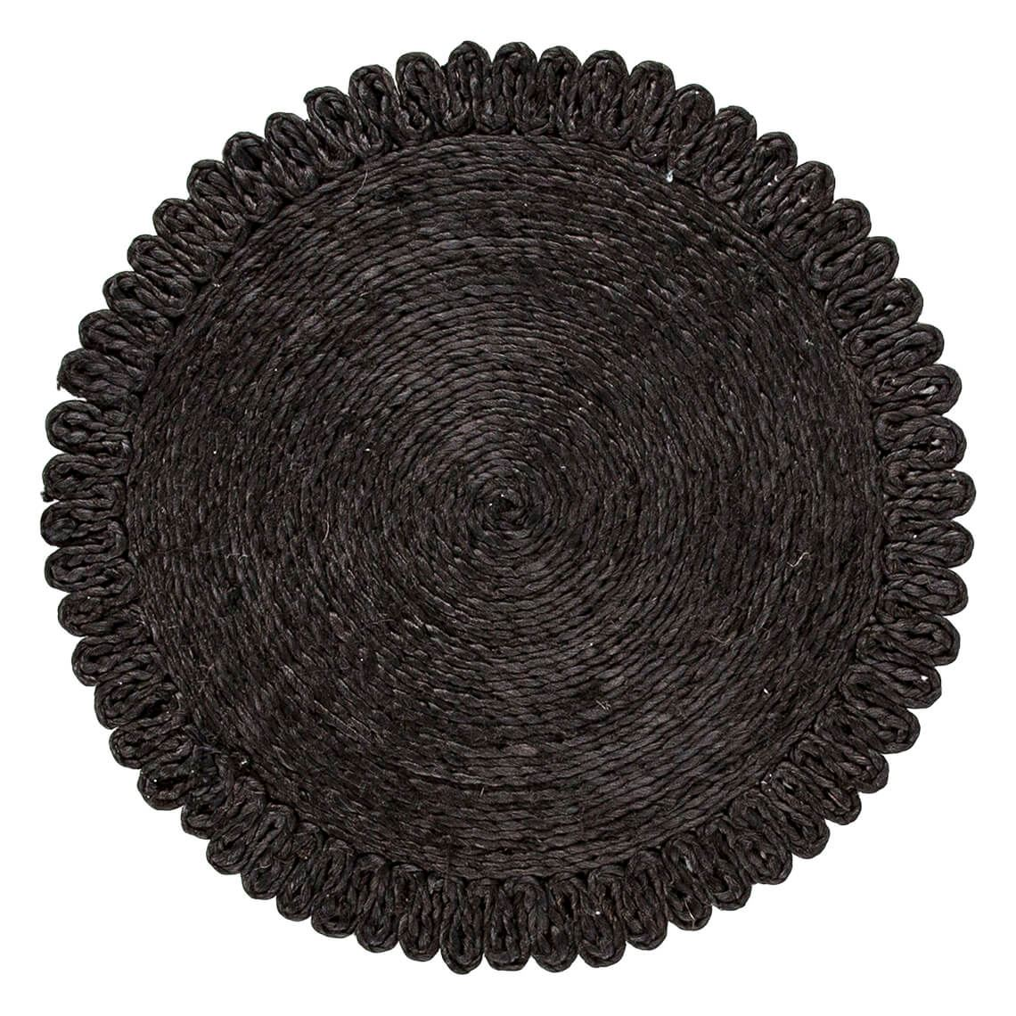 Azina Placemat Size W 35cm x D 35cm x H 1cm in Black Freedom by Freedom, a Placemats for sale on Style Sourcebook