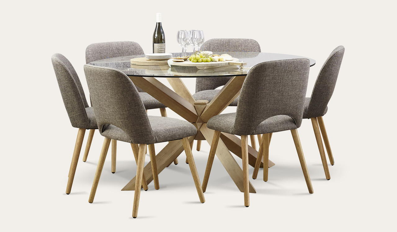 Miles Dining Suite by Focus On Furniture, a Dining Sets for sale on Style Sourcebook