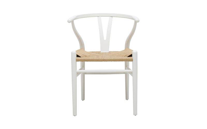 Megs Chair - White by Oz Design Furniture, a Dining Chairs for sale on Style Sourcebook