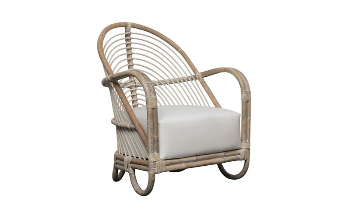 Martini Chair in rattan white wash by Oz Design Furniture, a Chairs for sale on Style Sourcebook