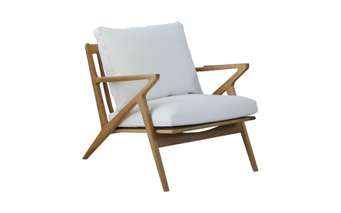Max Chair in oak / cotton white by Oz Design Furniture, a Chairs for sale on Style Sourcebook