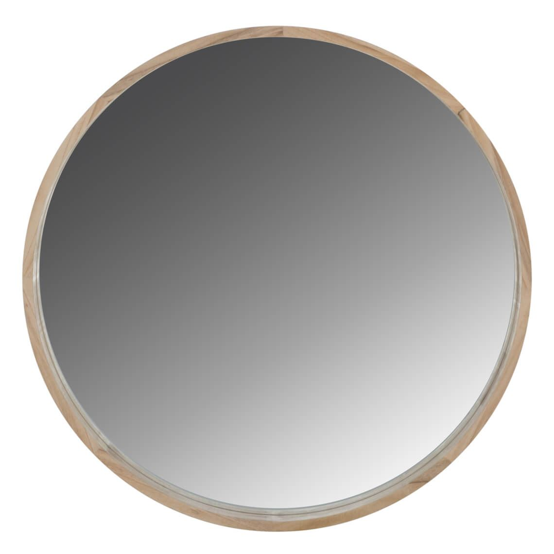 Solene Round Mirror Size W 90cm x D 5cm x H 90cm Timber/Mirrored Glass Freedom by Freedom, a Mirrors for sale on Style Sourcebook