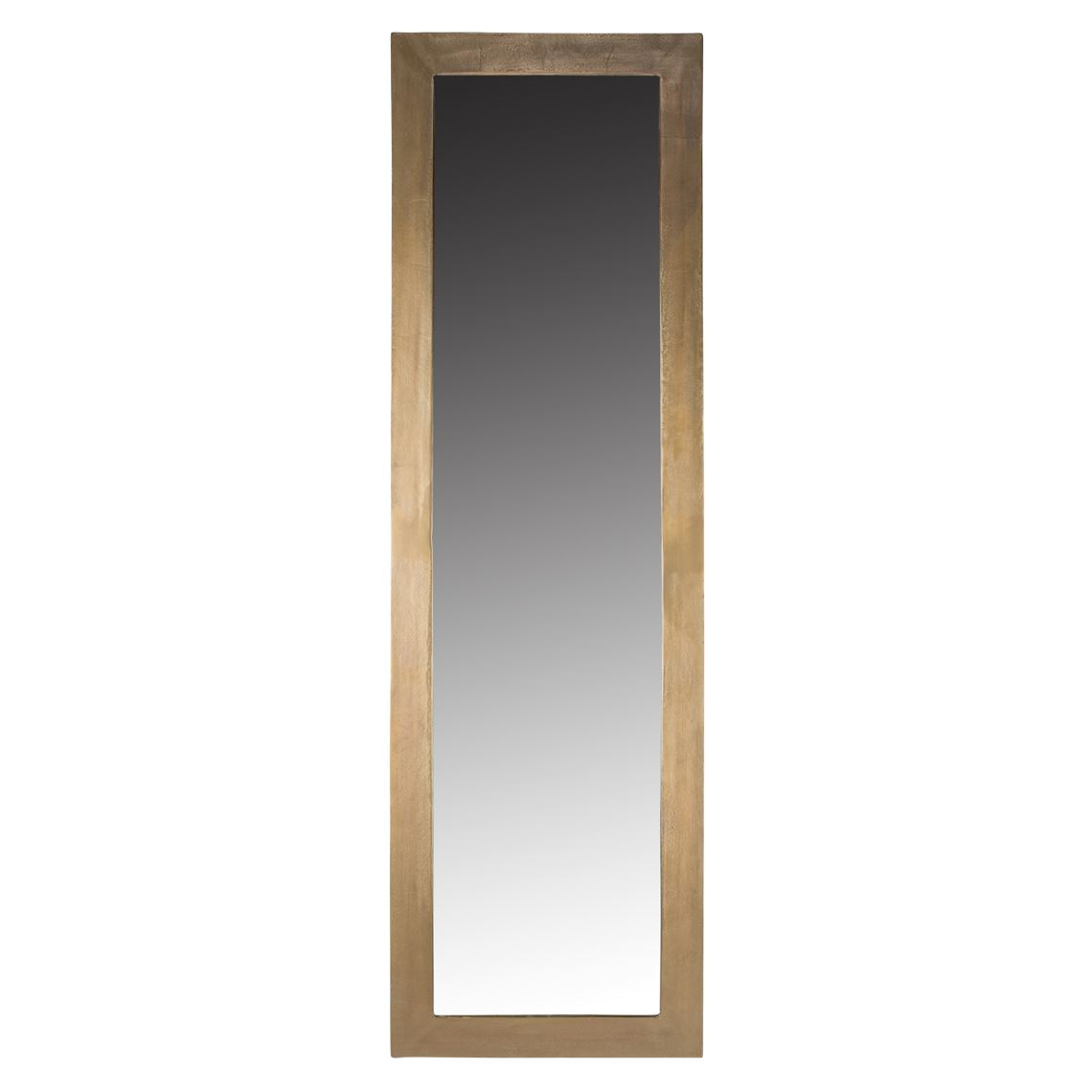 Delaford Floor Mirror, Colour Size W 58cm x D 3cm x H 190cm in Antique Brass Mdf/Brass Antique Aluminium/Polished Mirror Glass Freedom by Freedom, a Mirrors for sale on Style Sourcebook