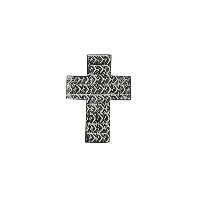 Saxon Cross Wall Sculpture Other Black/Offwhite Amalfi by Amalfi, a Statues & Ornaments for sale on Style Sourcebook