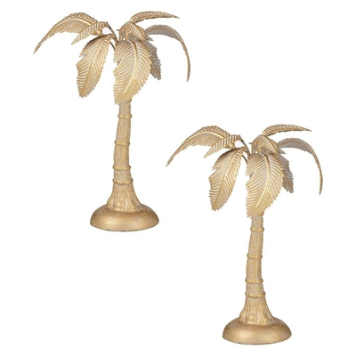 Standing Palm Sculpture by Amalfi, a Statues & Ornaments for sale on Style Sourcebook