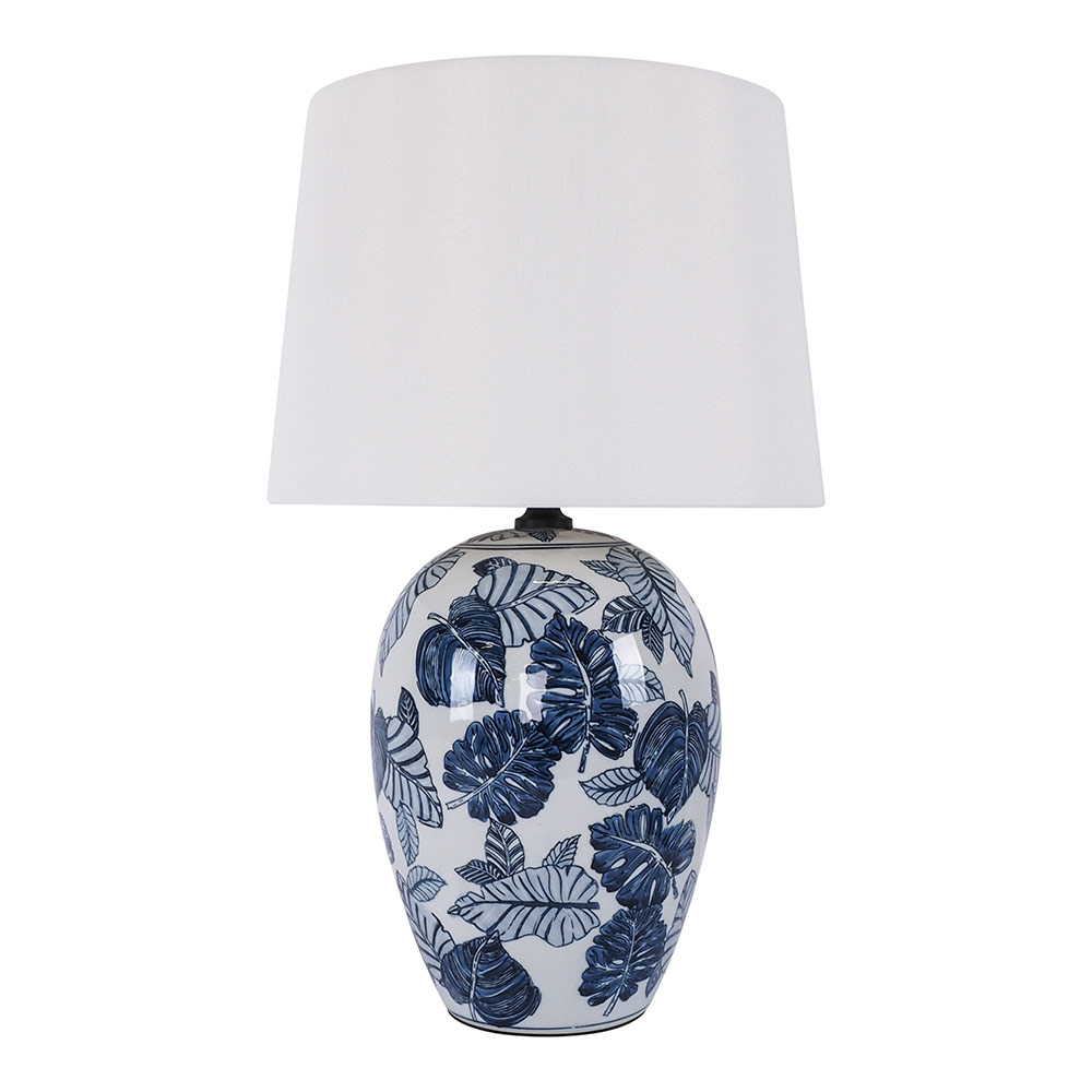 Blue Autumn Table Lamp 46cm by Early Settler, a Table & Bedside Lamps for sale on Style Sourcebook