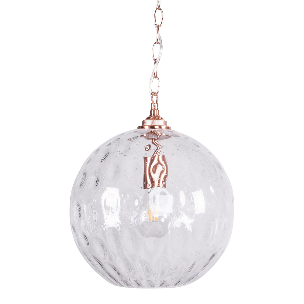 Bubble Glass Pendant 30cm by Early Settler, a Pendant Lighting for sale on Style Sourcebook