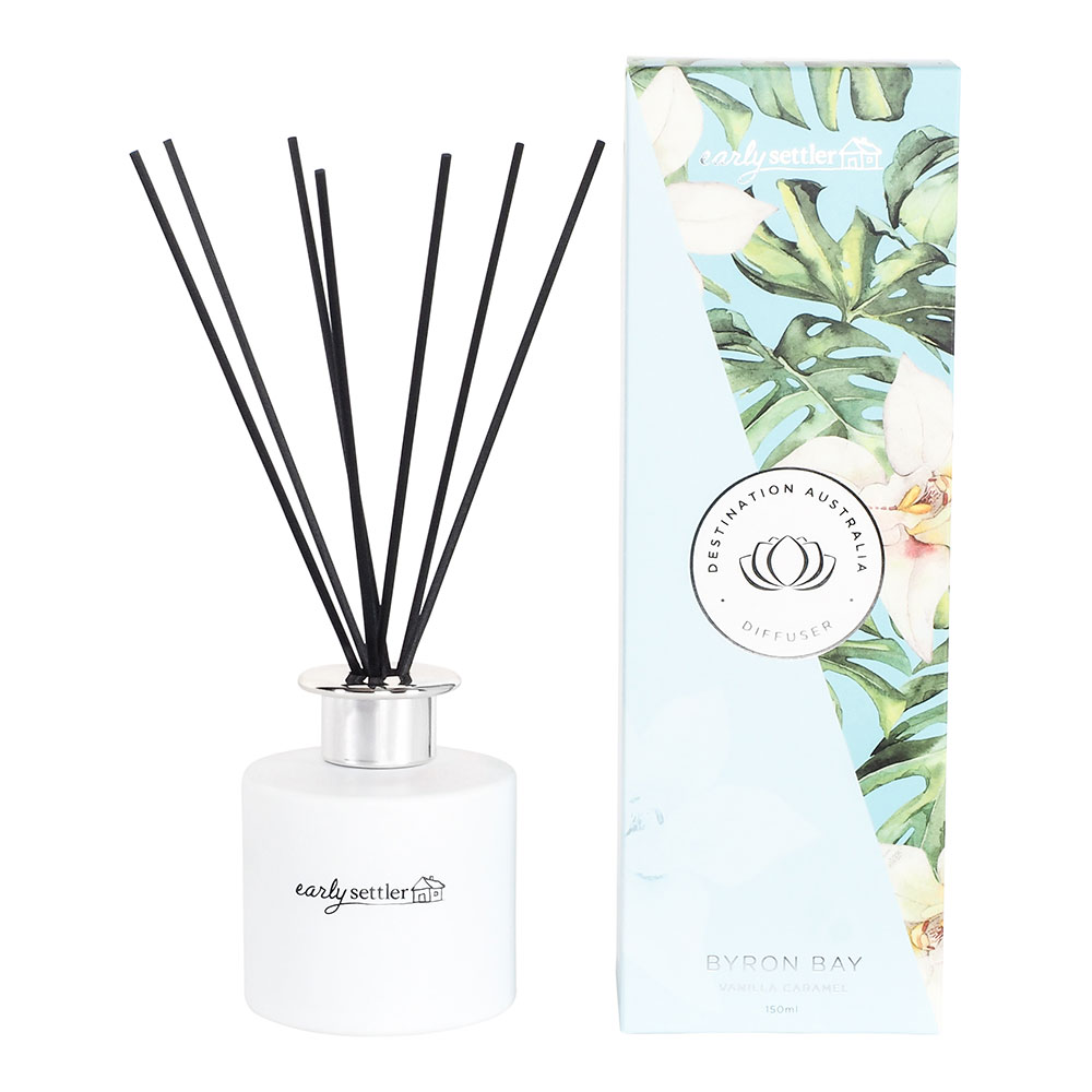 Byron Bay Vanilla Caramel  Diffuser 150ML by Early Settler, a Home Fragrances for sale on Style Sourcebook
