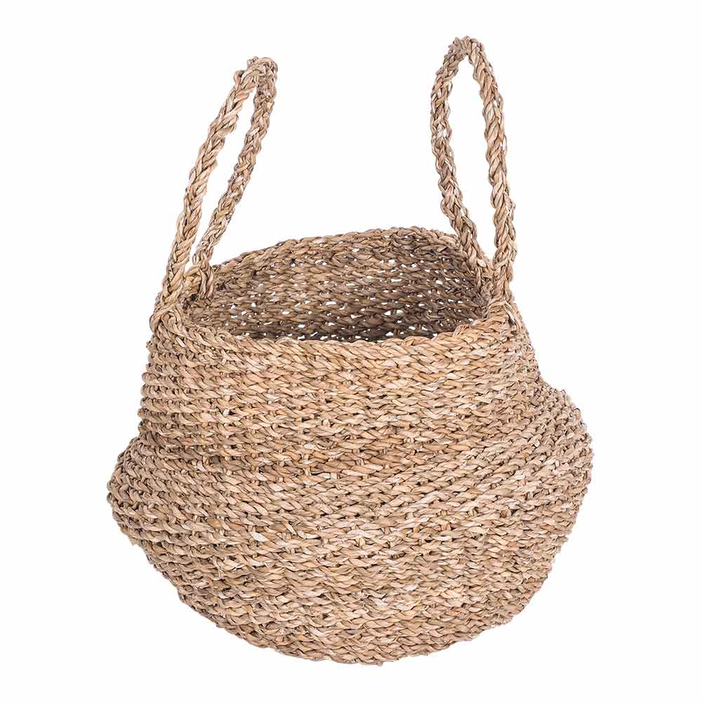 Casa Uno Basket with Handle 34x34 cm by Early Settler, a Baskets, Pots & Window Boxes for sale on Style Sourcebook