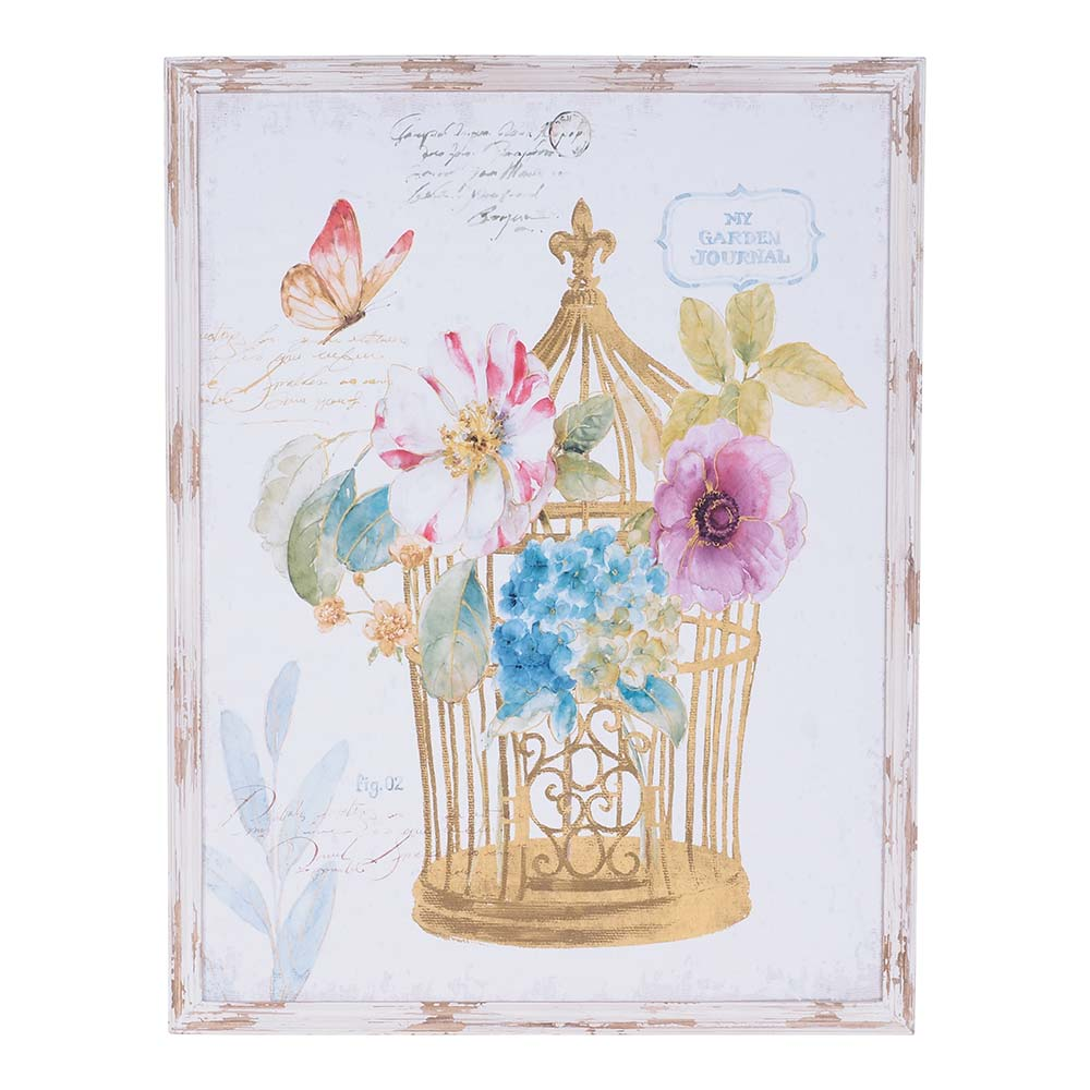 Clamart Bird Cage Print 110x85x2cm by Early Settler, a Prints for sale on Style Sourcebook