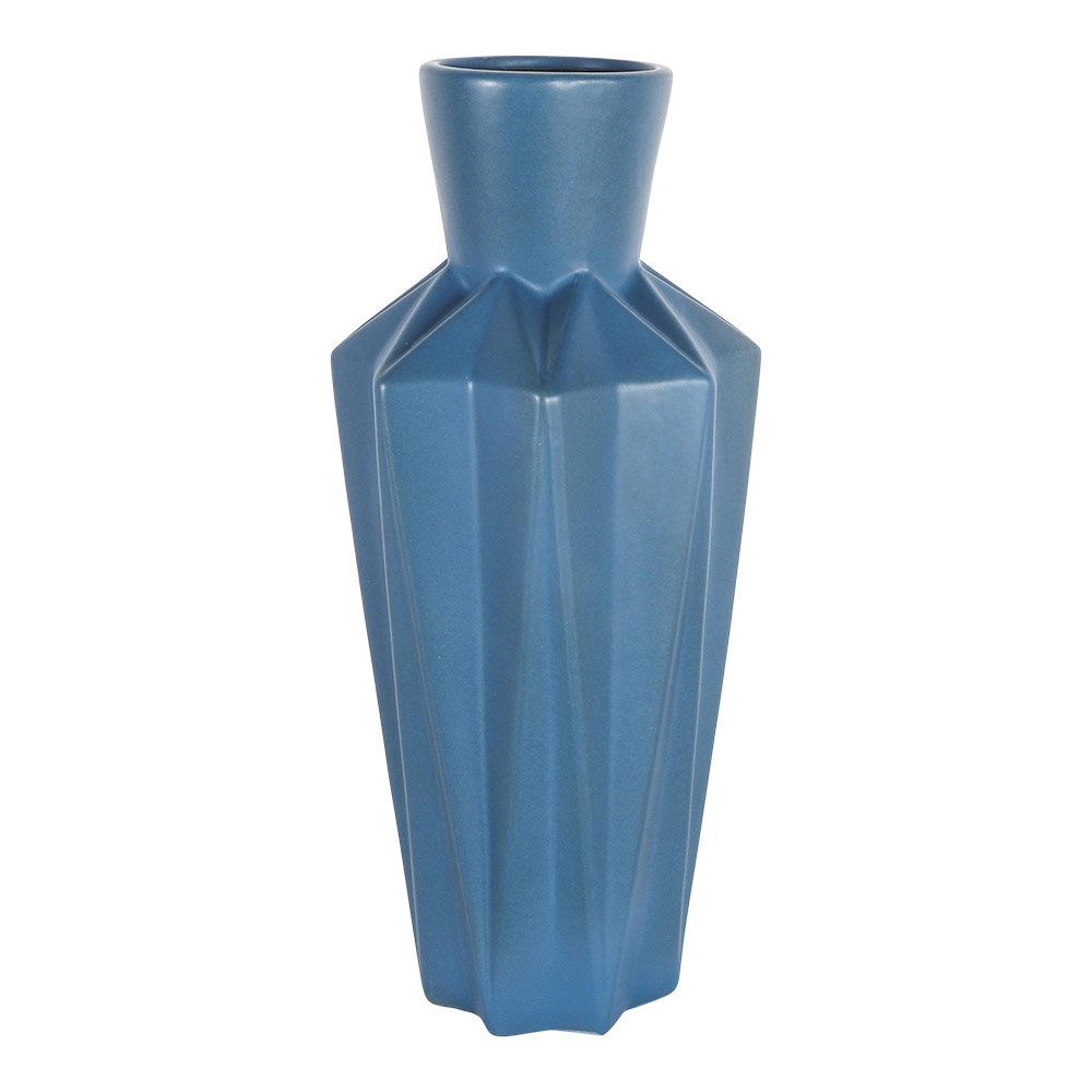 Cora Vase Indigo 16.5x16.5x40CM Cm by Early Settler, a Vases & Jars for sale on Style Sourcebook
