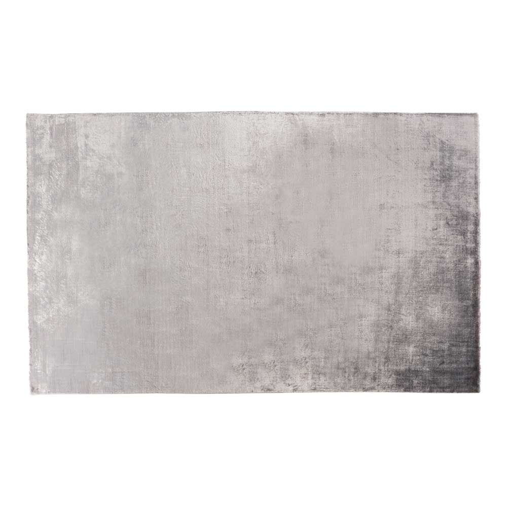 Luxe Silver Sheen Hand Loomed Cotton Rug 150 x 240 cm by Early Settler, a Contemporary Rugs for sale on Style Sourcebook