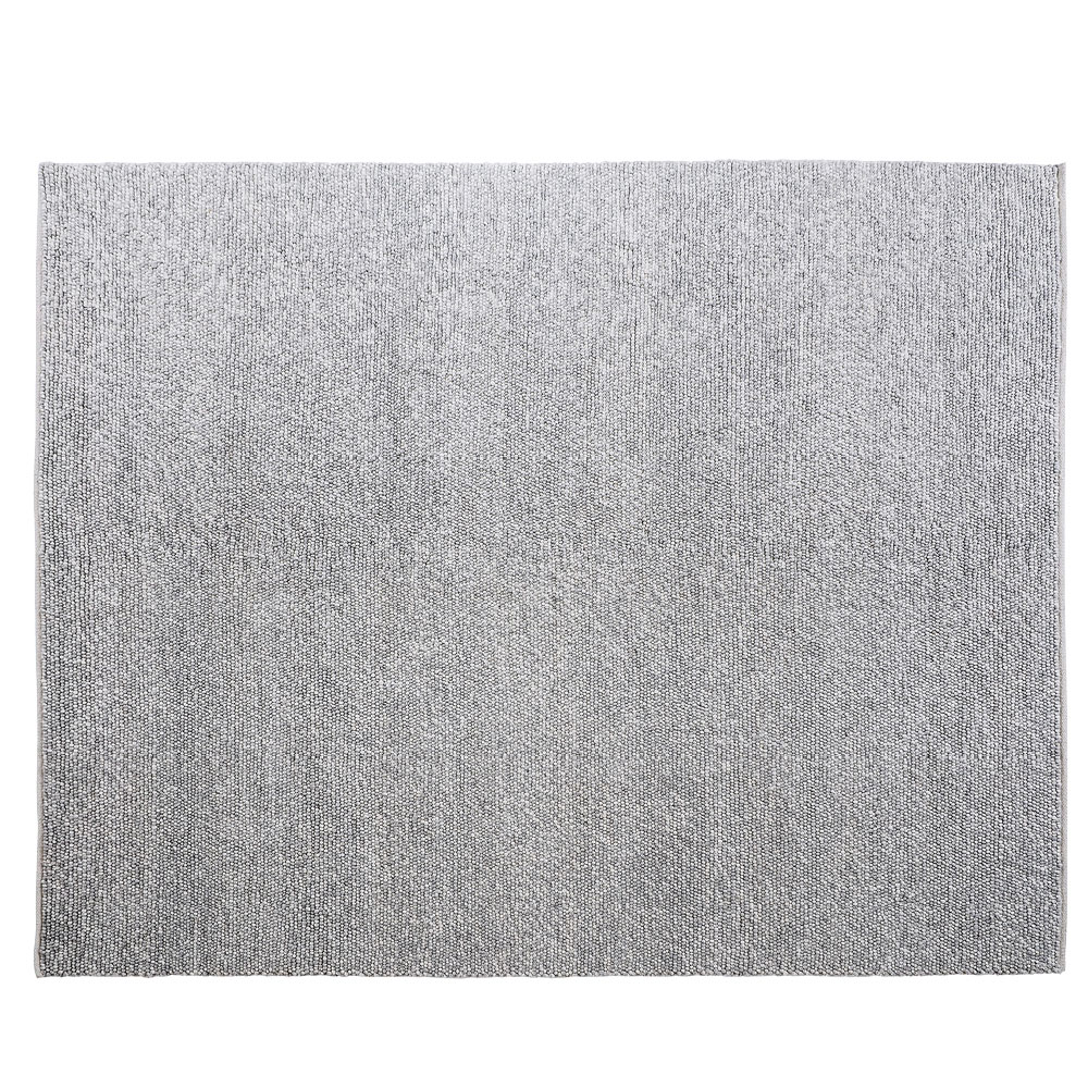 Pebbles Hand Woven Grey Wool Viscose Rug 240 x 300 cm by Early Settler, a Contemporary Rugs for sale on Style Sourcebook