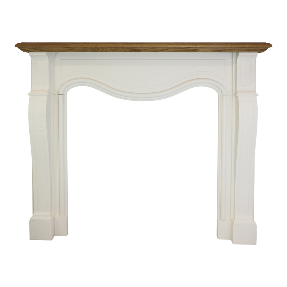 Provincial Oak Mantel by Early Settler, a Fireplace Mantels & Surrounds for sale on Style Sourcebook