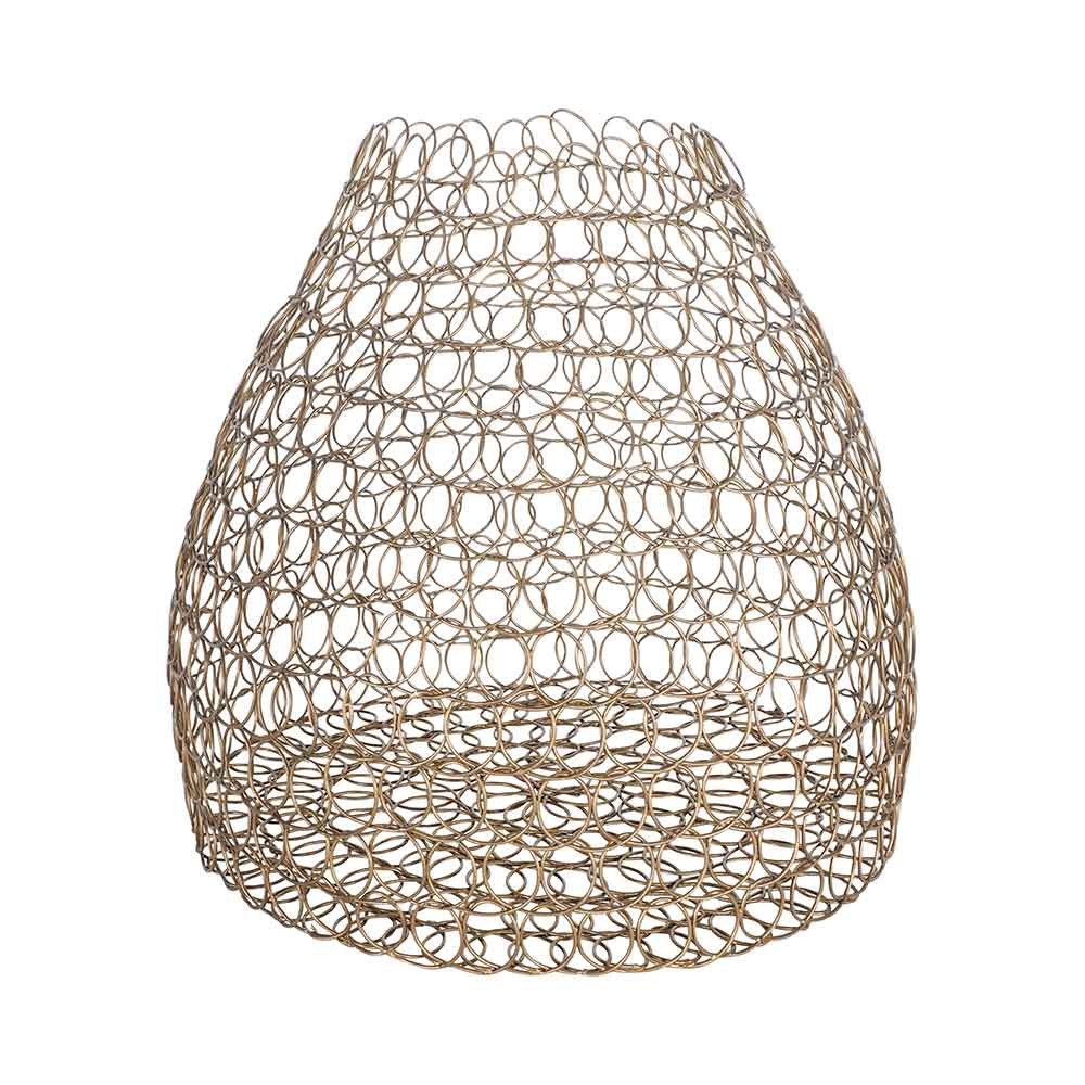 Seville Wire Metal Vase 24.5X24.5X27CM by Early Settler, a Vases & Jars for sale on Style Sourcebook