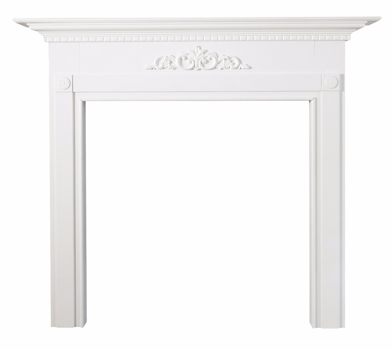 Montreux White Mantel by Early Settler, a Fireplace Mantels & Surrounds for sale on Style Sourcebook