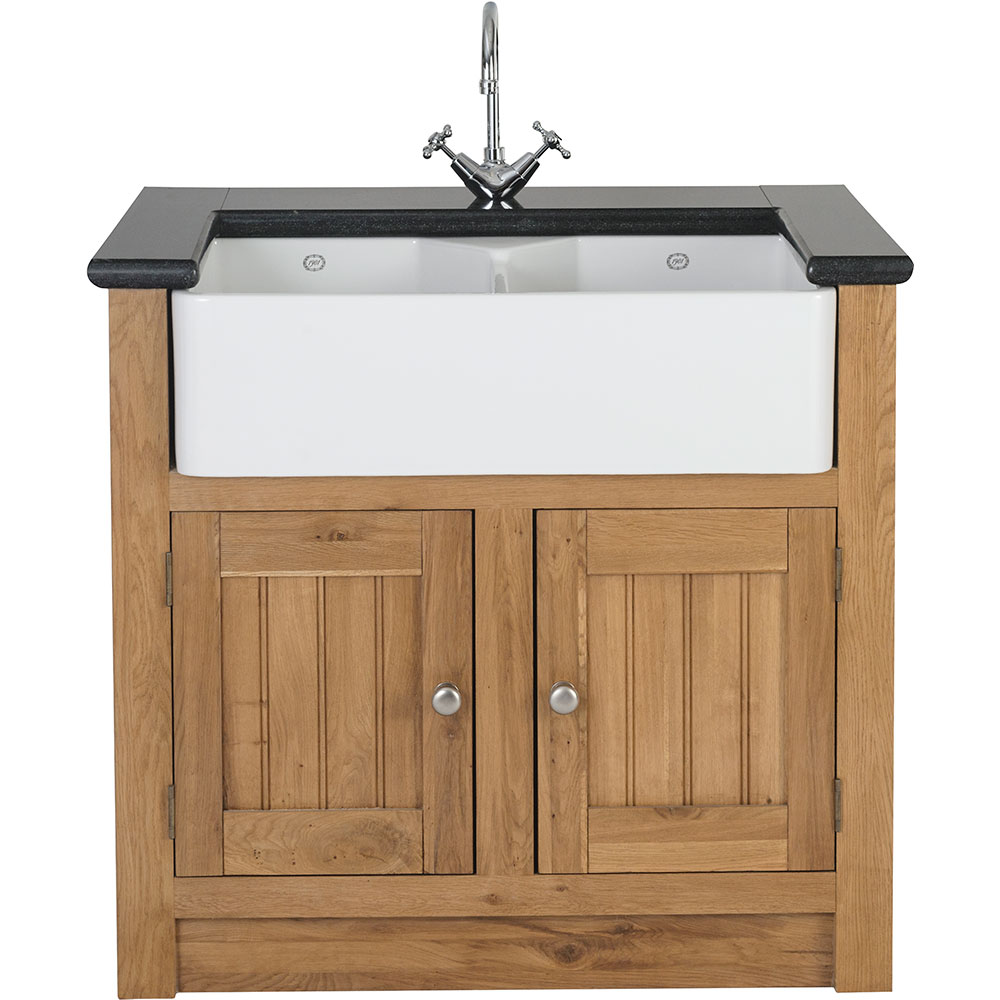 Orchard Oak 2 Door Sink Cabinet 980x665x900mm by Early Settler, a Cabinetry for sale on Style Sourcebook