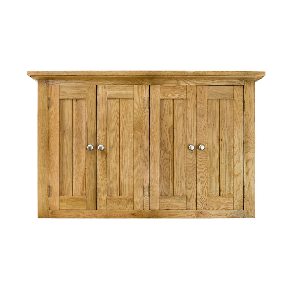 Orchard Oak 4 Door Overhead Cabinet 1400x360x875mm by Early Settler, a Cabinetry for sale on Style Sourcebook