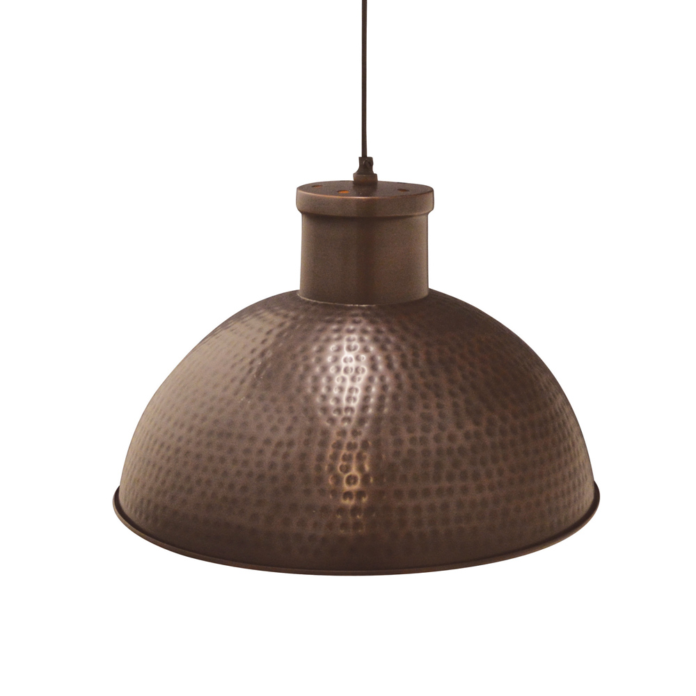 Sundri Pendant Antique Copper 40x28cm by Early Settler, a Pendant Lighting for sale on Style Sourcebook