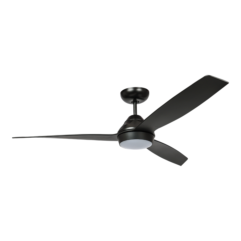 Esperance Indoor/Outdoor DC Fan Black with LED Light 132cm (Incl Remot by Early Settler, a Ceiling Fans for sale on Style Sourcebook